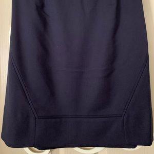 Tory Burch Navy A line skirt
